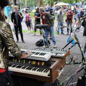Portlander dreams of free, mobile rock shows by bike