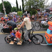 Photos from a 'Cycling Circus' on Mississippi Ave