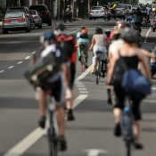 Bike traffic in Portland on the first day of summer (Photos)