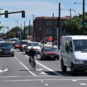 City changes dangerous lane configuration on N Broadway