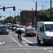 City changes dangerous lane configuration on N Broadway