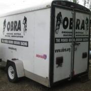 OBRA equipment trailer stolen in Eugene (photo)