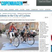 A backlash to bike infrastucture in Copenhagen?