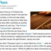 """""""Bike Race"""": OPB show will tackle Williams project"""