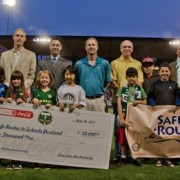 Coca-Cola, Portland Timbers donate $50,000 to Safe Routes program