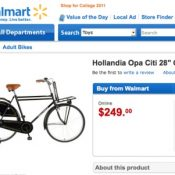 "Walmart goes Dutch with ""Hollandia"" model"