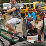 'Bicycle living' on Alberta Street