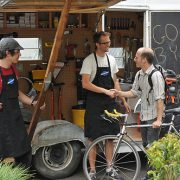 New mobile bike shop opens in South Waterfront near the tram