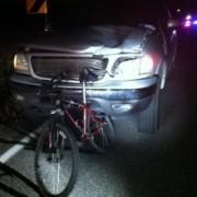 Man dies in bike/truck crash on West Union near North Plains – Updated