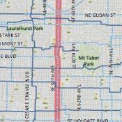 PBOT works around diverter debate in 50s Bikeway project