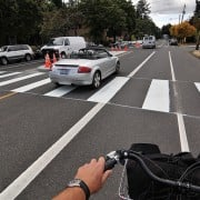 A ride on the newly completed Rosa Parks bikeway – Updated