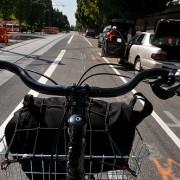 Newly striped bike lanes on NE 7th through Lloyd District raise eyebrows