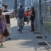 On narrowed Waterfront Park path, Parks Bureau urges caution