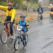 Rain doesn't dampen Sunday Parkways spirit