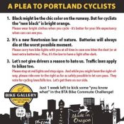 Bike Gallery uses ad to make 'Plea to Portland Cyclists'