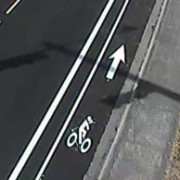 Washington County installs first-ever buffered bike lanes