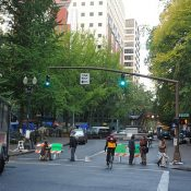 SW Main closure near Occupy Portland camps remains tense issue for all sides