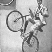 Fixed gear trick riding not as new as you think