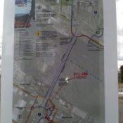 Mysterious (yet helpful) signage appears on I-5 bridge bikeways