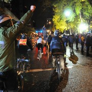 Bikes lend support to historic protest at Occupy Portland (Photos)