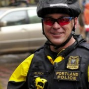 Would more bike cops and fewer riot cops lead to peaceful protests?