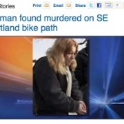 Clackamas County Sheriff's Office seek tips on I-205 bike path homicide
