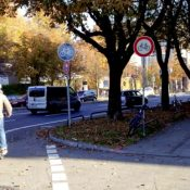 Dispatch from Munich; where old cycle tracks can't keep up with demand