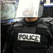 Police on bikes meet protestors on bikes: Smiles, dialogue ensues
