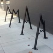 Vancouver gets its first artistic bike rack