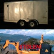 Non-profit's trail-building machine, tools stolen from state park