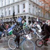 The 'bike swarm' evolves into a movement of its own
