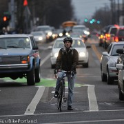 PBOT rolls out new bikeway markings in Lloyd District