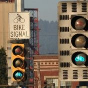 On January 1, bike traffic signals get the green light in Oregon