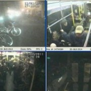"""TriMet releases on-board video of """"hard stop"""" that avoided bike rider"""