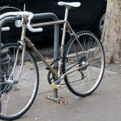 Locked Up: Lugged steel Trek downtown