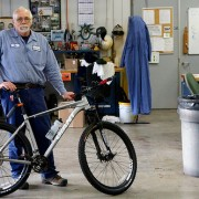 Bikes at work at CleanWater Services