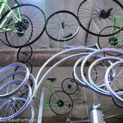 "Recycled bike parts steal the show at ""The Bicycle Experience"""