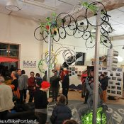 Photos from 'The 2012 Bicycle Experience' art show