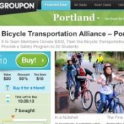 Sign of the times? BTA using Groupon to fund kids education program