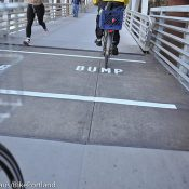 """New """"Bump"""" markings on Esplanade ramps part of larger safety campaign"""