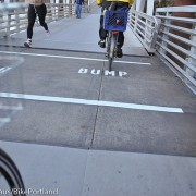 "New ""Bump"" markings on Esplanade ramps part of larger safety campaign"