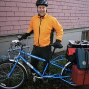 General contractor builds business by bike