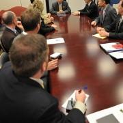 Oregon advocates check in with Senator Jeff Merkley
