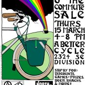 Today! Luck O' the Commute sale and party