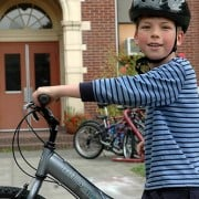 City has plenty to celebrate at Safe Routes to School kickoff event