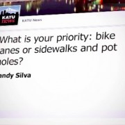 KATU asks 'Bike lanes or…' question: See how mayoral candidates respond