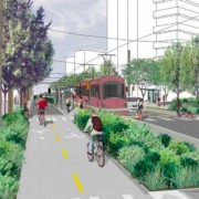 Streetcar/bikeway integration porn from Seattle