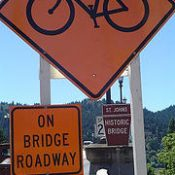 Reader Story: St. Johns Bridge: Portland, how about a warning?