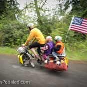 Family bike camping; the new American tradition