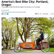 Portland reclaims #1 spot in Bicycling Mag rankings